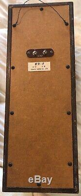 Vintage Fukuyo Coral Stereo Sound System Speakers BX-8 Original Owner Japan 1960
