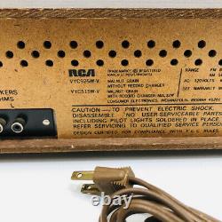 Vintage RCA Vibra AM FM 8-track Stereo Audio System with Original Speakers VTG