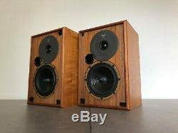 Vintage Royd Sorcerer Stereo Bookshelf Speakers / Rare HIFI / Royd Audio / NAIM