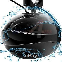 Waterproof ATV UTV RZR Polaris Bluetooth LED 4 Speakers Stereo Audio Amp System