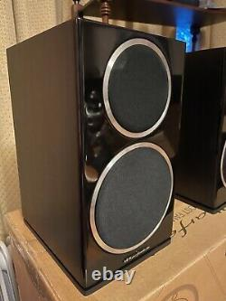 Wharfedale Diamond 220 Bookshelf Stereo Audio System 100With80ohms Wired Speakers