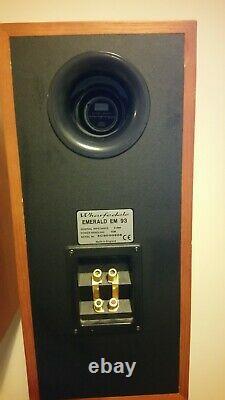 Wharfedale Emerald EM 93 speakers, Solid wood, 100 Watt, 8 Ohm, Superb sound