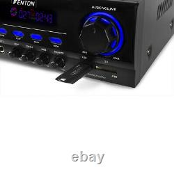 XEN HiFi Speaker Set and Stereo Amplifier, Bluetooth MP3 Home Audio Music System