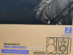 YAMAHA NS-BP200 Speakers Speaker Pair Piano Black System Bookshelf Sound Stereo