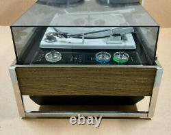 Zenith Circle Of Sound Turntable Solid State Stereo Phonograph With Speakers
