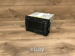 05 07 Chrysler 300 Tête De Navigation Gps Stereo 6 CD Changer Radio Mp3 Oem #2