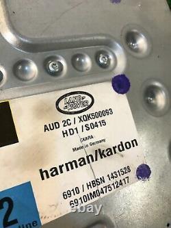 05-09 Range Rover Hse -sport- Land Rover Lr3 Rad Audio Amplificateur Harman Kardon