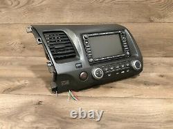 06-11 Honda CIVIC Oem Stereo Gps Navigation Carte Affichage Écran Moniteur Tête