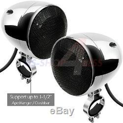 1000w Amp Stéréo Bluetooth Étanche 4 Système D'enceintes Audio Usb Sd Fm Radio Atv