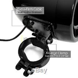 1000w Moto Bluetooth 4 Haut-parleurs Stéréo Système Audio Vtt Utv Can-am Polaris