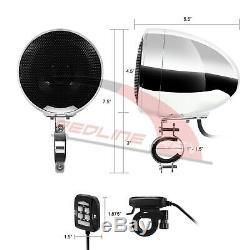 1200w Amp Bluetooth 4 Haut-parleur Étanche Audio Stéréo Système Harley Personnalisée Glide
