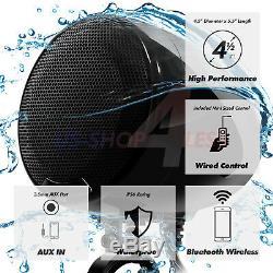 1200w Amp Bluetooth Étanche Moto Stéréo 4 Haut-parleur Audio Mp3 Système Aux