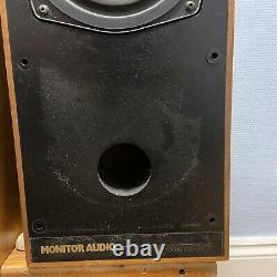 #1465 Haut-parleurs Vintage Monitor Audio System R352