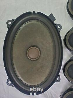 17-19 Alfa Romeo Giulia Harman Kardon Audio Stereo Speaker Set Oem