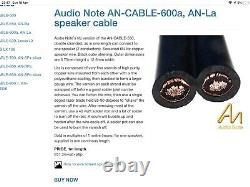 £1k+ Audio Note An-la Bi-wire Speaker Cables (2x3m Biwire Stereo Pair) Kondo
