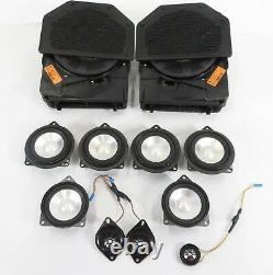 2008 Bmw 335i (e90) Radio Stereo Media Audio Logic-7 Suboofer Speaker Set