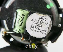 2011 Mercedes E350 (w212) Radio Stereo Logic-7 Audio Subwoofer Speaker Set-12