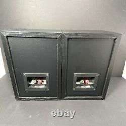 2 Haut-parleurs Kef C15. 4 Ohms @ 80 W, Étagère De Livre, Studio Pro, Salut Puissance Stereo Audio
