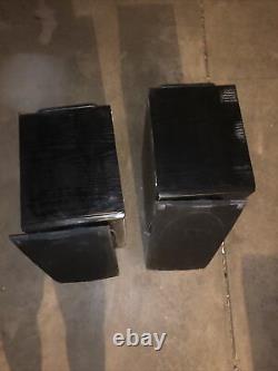 2 Vintage Polk Audio Rt55 Bibliothèque Haut-parleurs De 200 Watts Haut-parleurs Stéréo Noir