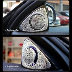2pcs Voiture Porte Avant Tweeter Sound Stereo Haut-parleur Audio Pour Mercedes-benz Classe E