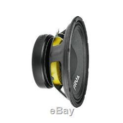 2x Audio 10w650a-prv 4 MID Range Alto Voiture Stéréo 10 Haut-parleur 4 Ohms 10a Pro 1300w