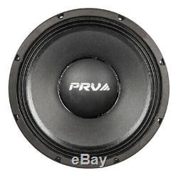 2x Audio 12mr2000 Gamme Prv MID Car Stereo 12 Président 8 Ohms 12mr Pro 4000 Watts