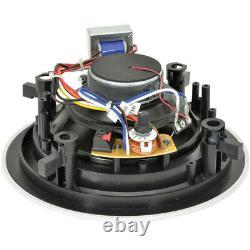400w Bluetooth Sound System 2x 6.5 Slim Hi-fi Amplificateur Plafond Speakerchannel
