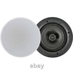 400w Bluetooth Sound System 4x 8 Slim Ceiling Speaker Channel Hifi Amplificateur