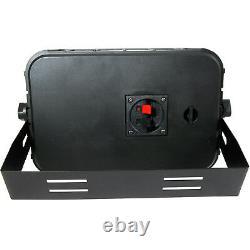 400w Bluetooth Sound System 4x Noir 200w Parleur Mural Chaîne Hifi Amplificateur
