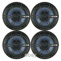 4 Enrock Audio Ec1865bm 6.5 120 Watt 2-way Boat Audio Coaxial Haut-parleurs Stéréo