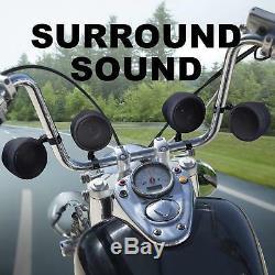 4 Haut-parleurs Stéréo Moto Système Audio Haut-parleur Bluetooth Amplificateur Etanche