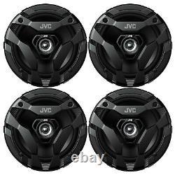 4 X Jvc Cs-df620 6,5 300 Watt Max 2-way Voiture Haut-parleurs Coaxiaux Audio Stéréo