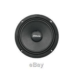 4x Audio 6mr200a Prv MID Range Alto Car Stereo 6.5 Speaker 8 Ohms 6mr Pro 800w