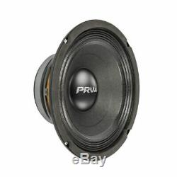 4x Audio 8mb450-4 MID Prv Basse Stéréo Voiture 8 Haut-parleur 4 Ohms 8mb Pro 1800 Watts