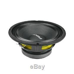 4x Audio 8mb450 MID Prv Basse Stéréo Voiture 8 Haut-parleur 8 Ohms 8mb Pro 1800 Watts