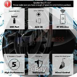 600w Bluetooth Haut-parleurs Stéréo Étanche Audio Système Amp Vtt Polaris Utv Canam