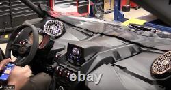 6.5 Dash Speaker Panel Monte Stéréo Audio- Can Am Maverick X3 Max 16-19 6-1/2