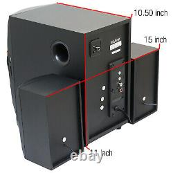 Accueil Théâtre Haut-parleurs Système Stereo Surround Haut-parleurs Son Sans Fil Usb Audio