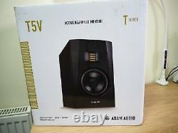 Adam Audio T5v Active Nearfield Monitor & 3m Xlr Câble Stéréo Jack