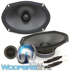 Alpine S-s69c 6x9 Car Audio Stéréo 260w Component Silk Tweeters Haut-parleurs Nouveaux