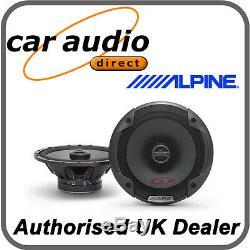 Alpine Spg-17c2 16.5cm 6.5 Audio Stéréo Radio 240w Hauts-parleurs Porte Shelf Nouveaux