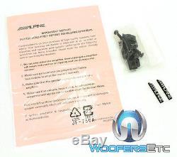 Alpine X-s65 6.5 330w Type De Fort X Coaxial Carbone Graphite Tweeters Haut-parleurs Nouveaux