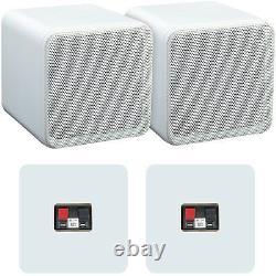 Amplificateur Bluetooth 110w & Kit Haut-parleur 80w Pour Bibliothèque Ampli Hifi Sans Fil Compact