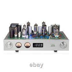 Amplificateur De Récepteur Audio Radio Stereo Vintage Valve Tube Fm Pour Haut-parleurs Passifs