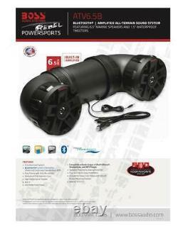 Atv Bluetooth Speaker Golf Cart Tout Terrain Stéréo Son Système Utv Bateau 450 W