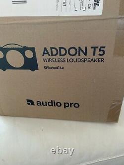 Audio Pro Addon T5 Bluetooth Haut-parleur Sans Fil Stéréo Blanc