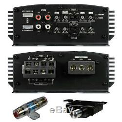Audiopipe Apmn-4150d 4 Canaux Voiture Amplificateur Audio 2500w 4ch Haut-parleur Stéréo Amp