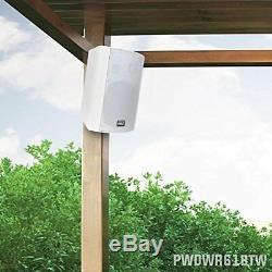 Autour De Son Pyle Extérieur Mural Patio Haut-parleur Stéréo Bluetooth Étanche