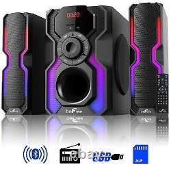 Befree Sound 2.1 Canal Bluetooth Multimedia Haut-parleur Filaire Plateau Système Stéréo