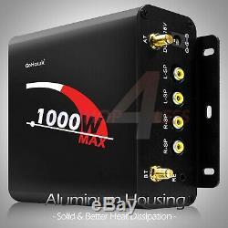 Bluetooth Amplificateur Audio Stéréo Système Radio Fm Moto Étanche 4 Haut-parleur
